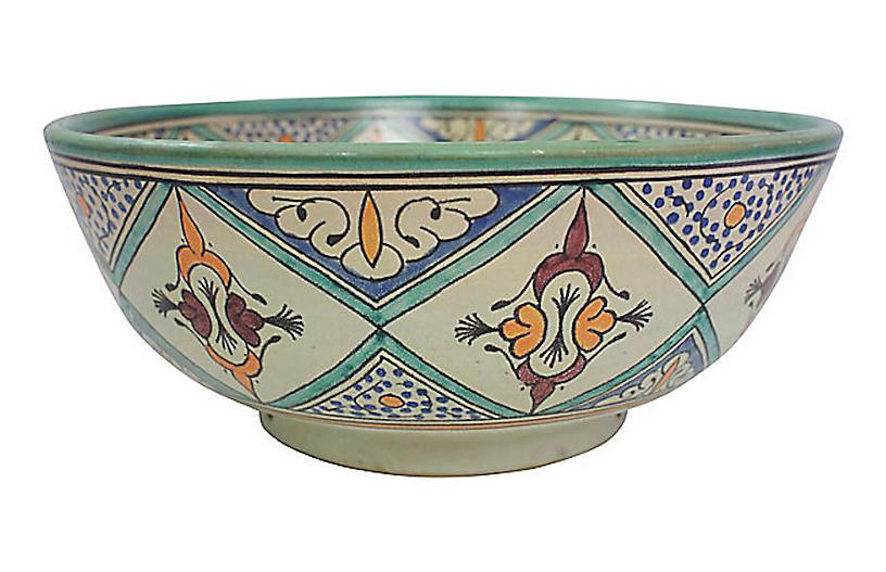 Large Moroccan Bowl