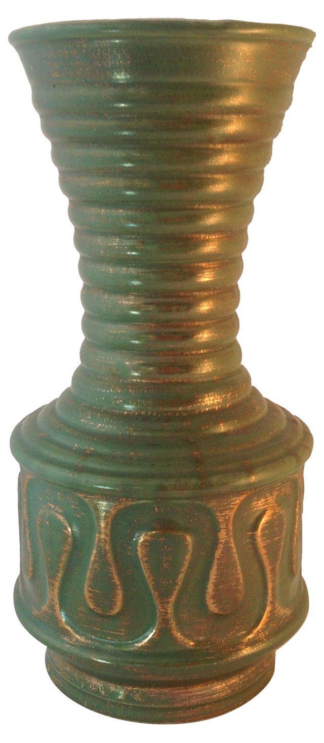 Tall Studio Pottery Vase