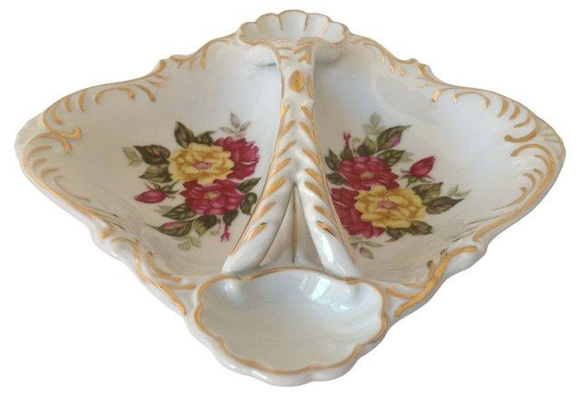 Divided Porcelain Dish