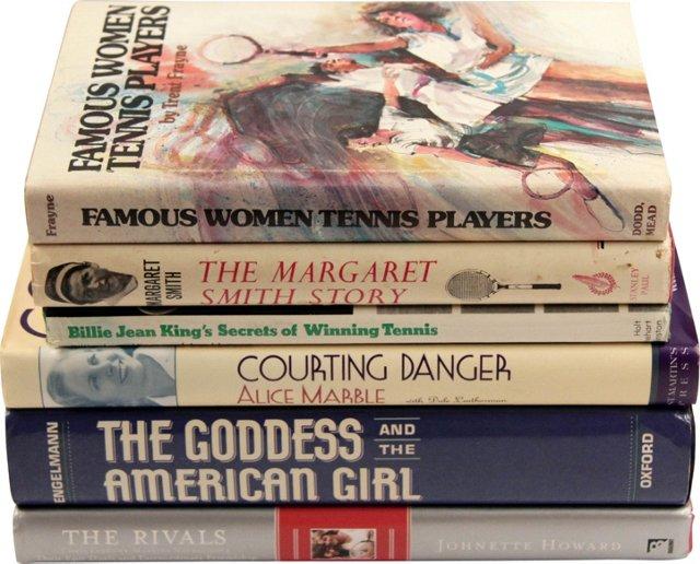 Legends of Women's Tennis, Set of 6