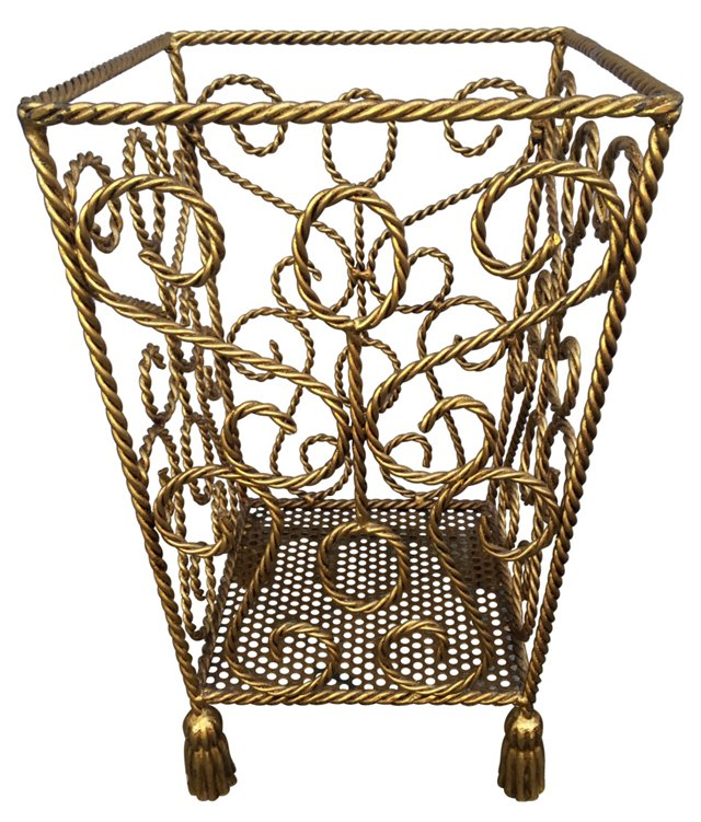 Italian Tassel Basket