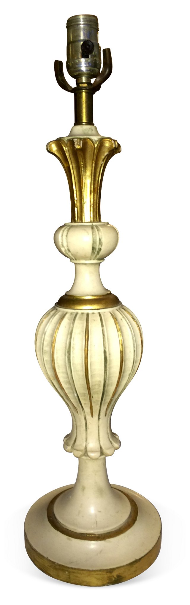 Gilded Italian Table Lamp