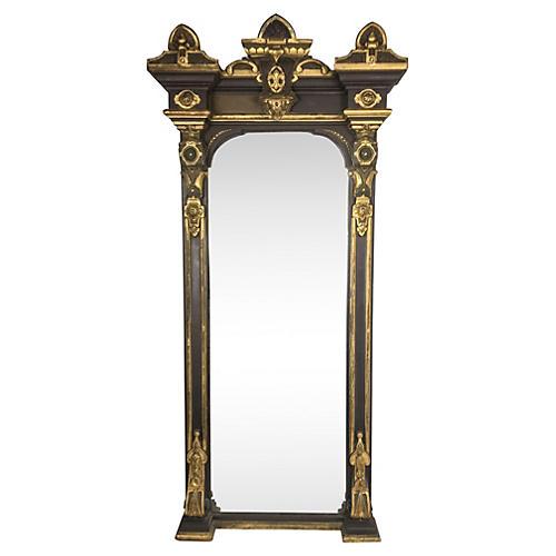 19th-C. French Empire Gilt Mirror