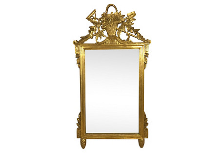 French Style Giltwood Mirror by LaBarge