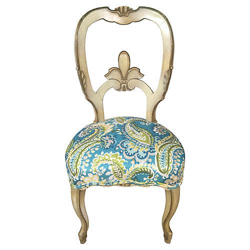 1960s Florentine Side Chair