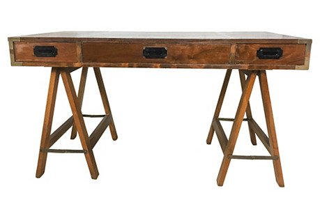 Campaign Style Desk by Lane
