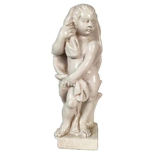 Italian Teracotta Statue