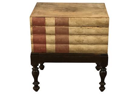 Antique Italian Book Table