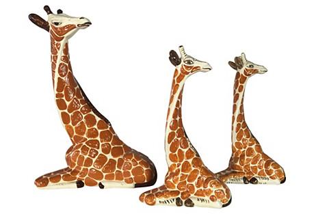 1960s Italian Giraffes, S/3