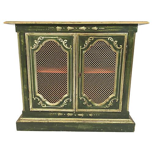 1960s Venetian Bookcase