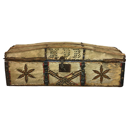 19th-C. French Document Box