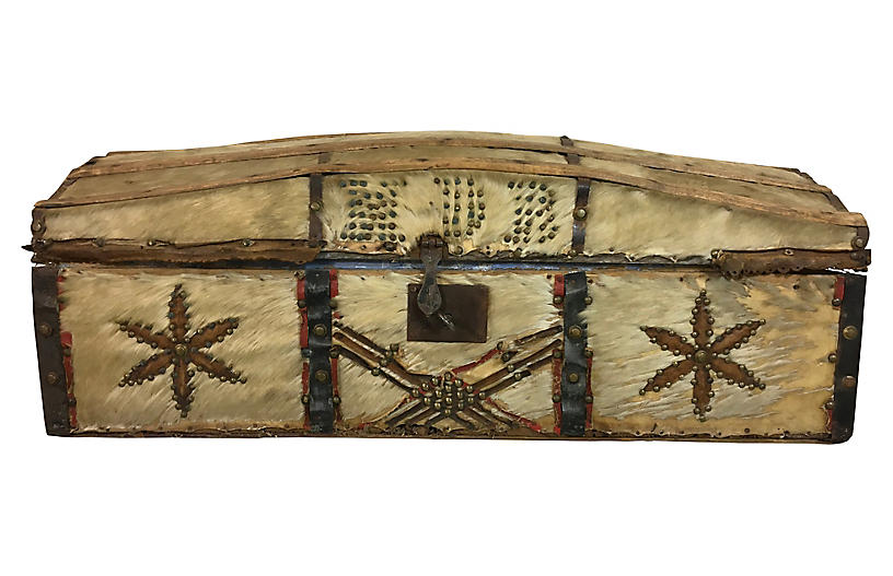 19th-C. French Document Box