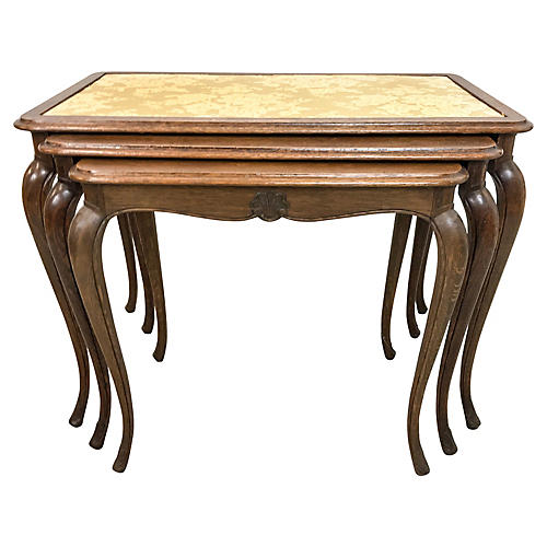 1950s French Nesting Tables