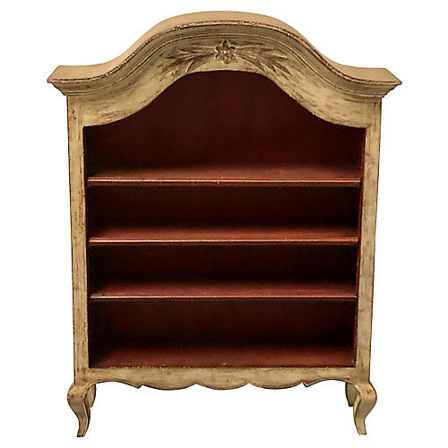 Petite Painted French Shelf