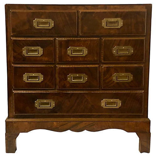 Burlwood Campaign Style Chest