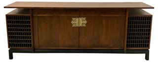 Danish Credenza Los Angeles : Mid century modern style danish credenza sideboards media