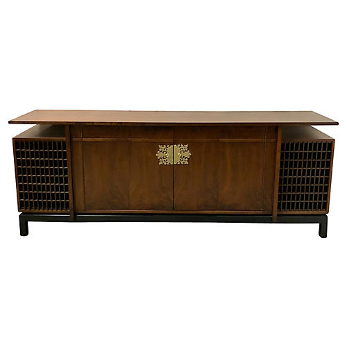 Asian Modern Credenza att. James Mont