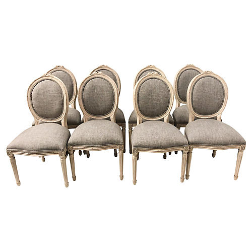 French Style Dining Chairs,S/8