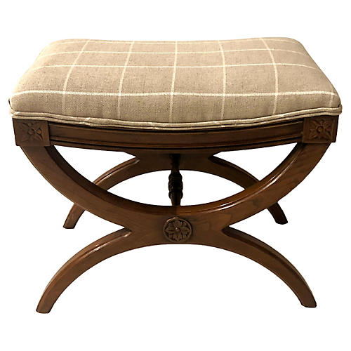 Neo-Classical Style Ottoman