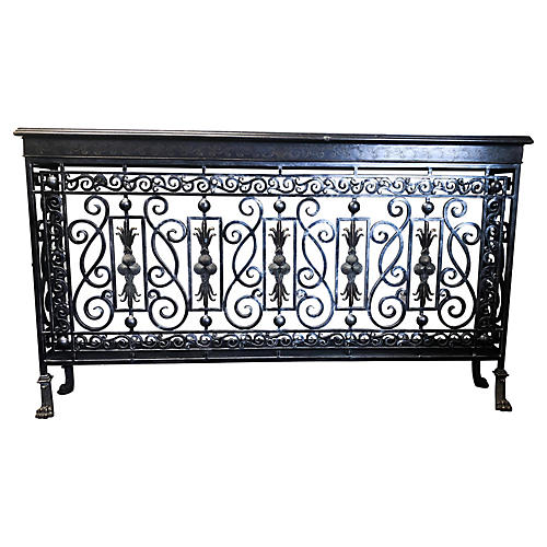 Maitland-Smith Iron & Bronze Console