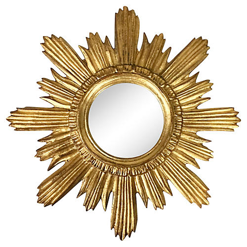 Florentine Sunburst Mirror