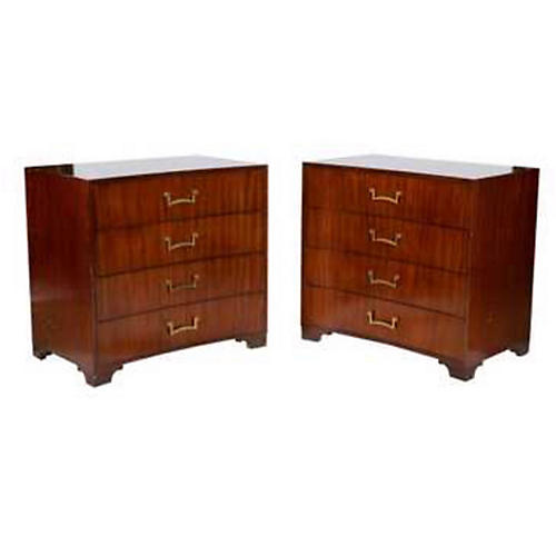Parzinger Style Modern Chests,Pair