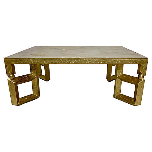 Baker Furn. Asian Style Coffee Table