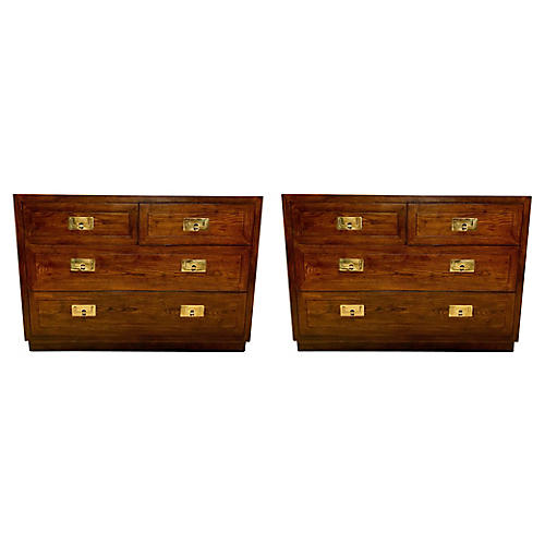 Campaign-Style Chests attr. Henredon