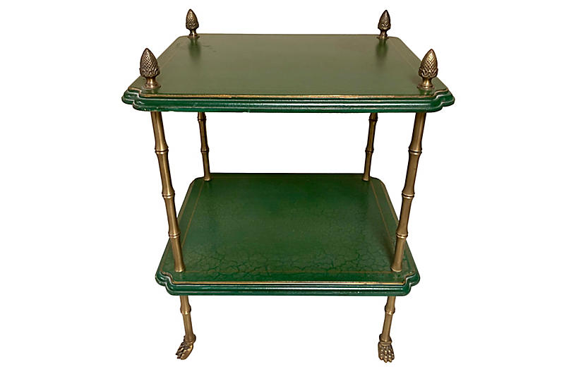 Regency Style Faux Bamboo Table
