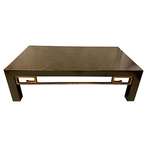 James Mont Style Modern Coffee Table