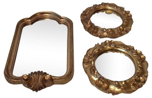 Florentine Accent Mirrors, 3 Pcs.