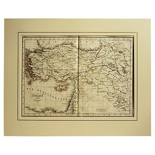 Turkish Map, 1828