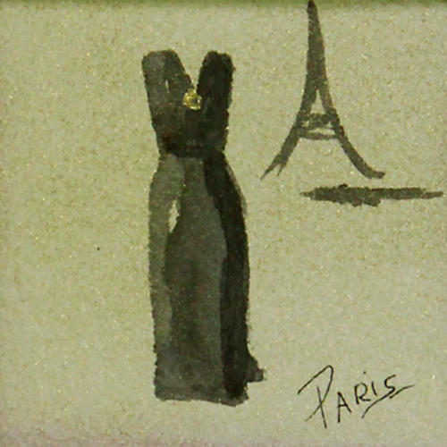 Paris Evening Gown