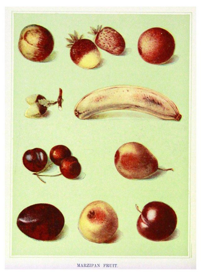 Marzipan Fruit, C. 1890