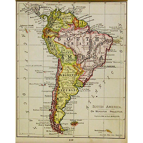 South America, 1899