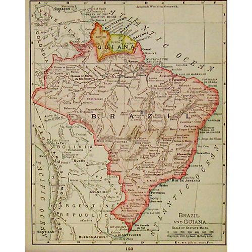 Brazil, 1899