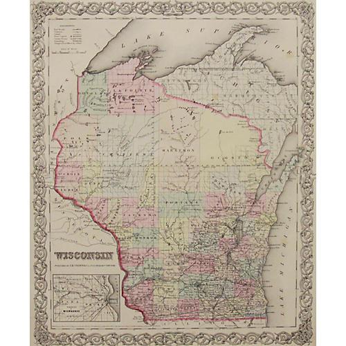 Wisconsin, 1856