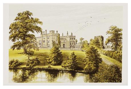 Ripley Castle, C. 1880