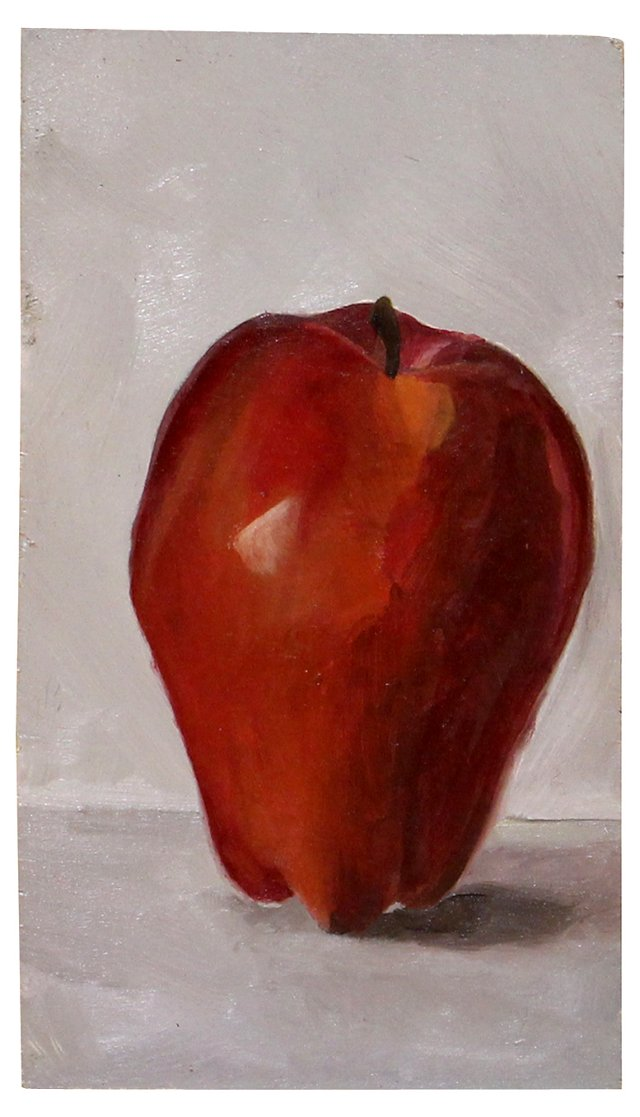 Red Delicious Apple Still Life