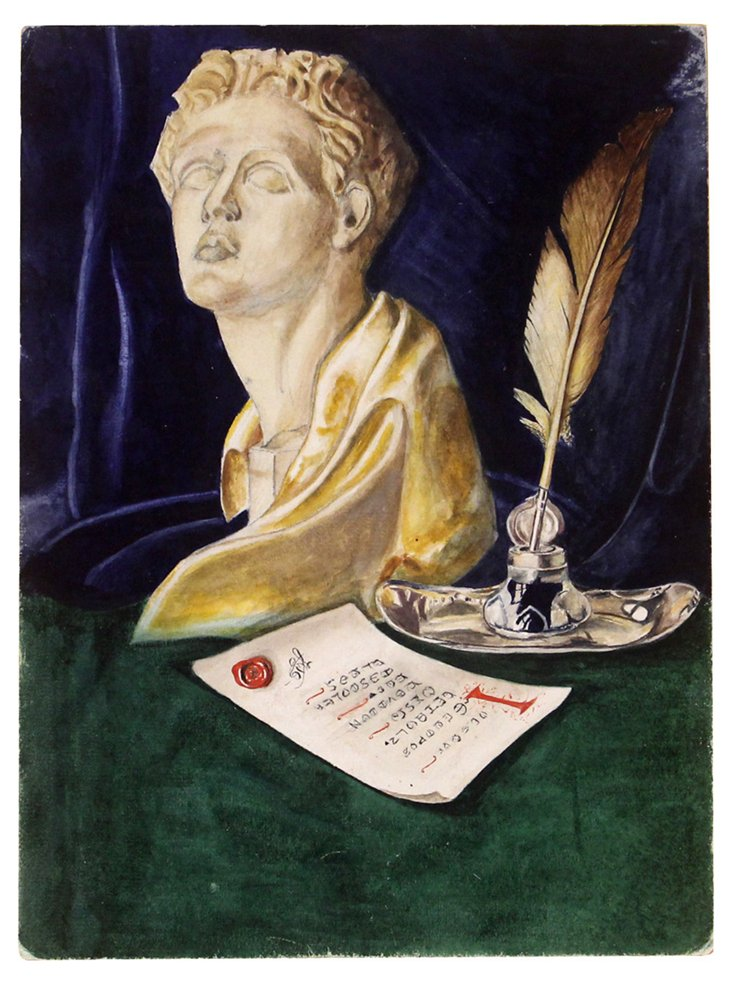 Classic Object Still Life, C. 1920