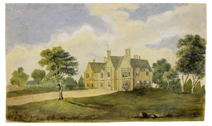 English Country House, 1886