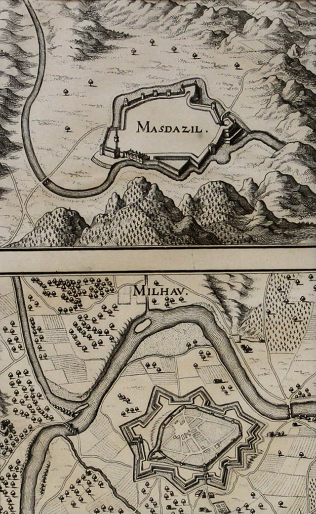 French Fortifications, 1660