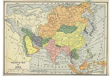 Asia, 1910