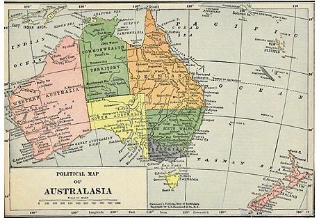 Australasia, 1910