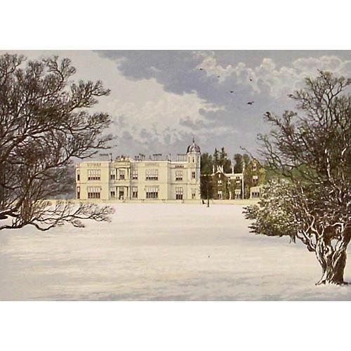 Eshton Hall, 1880