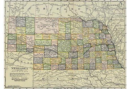 Nebraska, 1910