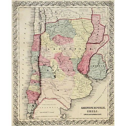 South America Section, 1856