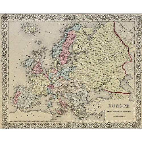 Europe, 1856