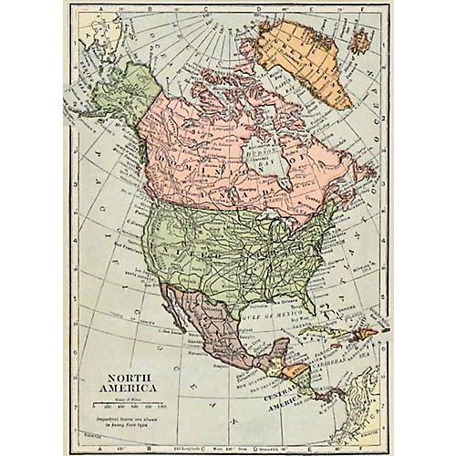 North America, 1907