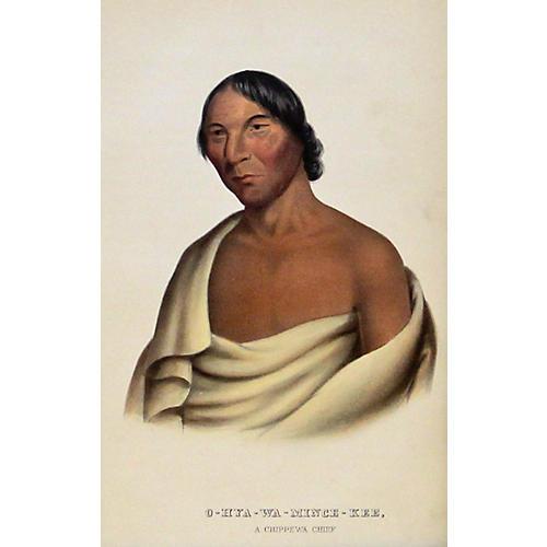 Chippewa Chief, 1848